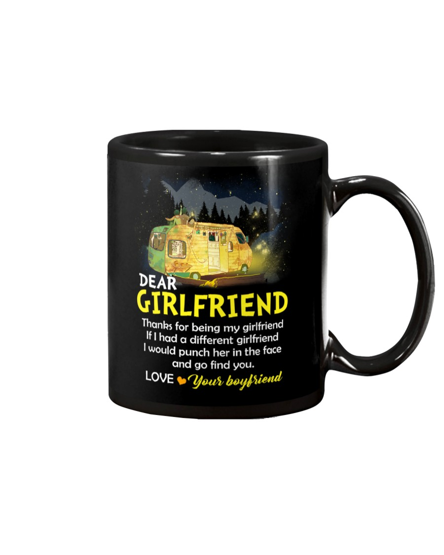 Thanks For Being My Girlfriend Camping Mug