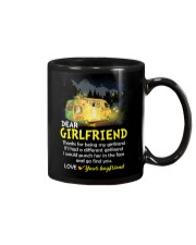 Thanks For Being My Girlfriend Camping Mug front