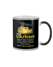 Thanks For Being My Girlfriend Camping Color Changing Mug thumbnail