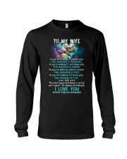 To My Wife If You're Asking If I Need You Turtle  Long Sleeve Tee tile