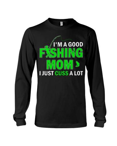 FISHING MOM CUSS A LOT
