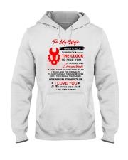 Engineer Wife Clock Ability Moon Hooded Sweatshirt thumbnail