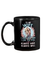 I Loved You Otter  Mug back