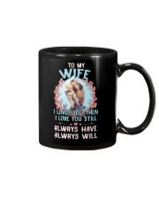 I Loved You Otter  Mug front