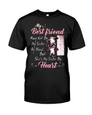 Shes My Sister By Heart Cow Classic T-Shirt thumbnail