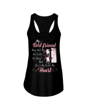 Shes My Sister By Heart Cow Ladies Flowy Tank thumbnail