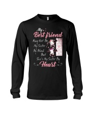Shes My Sister By Heart Cow Long Sleeve Tee thumbnail