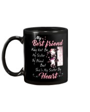 Shes My Sister By Heart Cow Mug back
