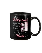 Shes My Sister By Heart Cow Mug front