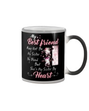 Shes My Sister By Heart Cow Color Changing Mug thumbnail