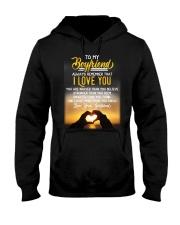 Family Boyfriend I Love You Hooded Sweatshirt thumbnail