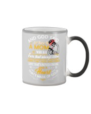 And God Said Let There Be A Mom Family Color Changing Mug thumbnail