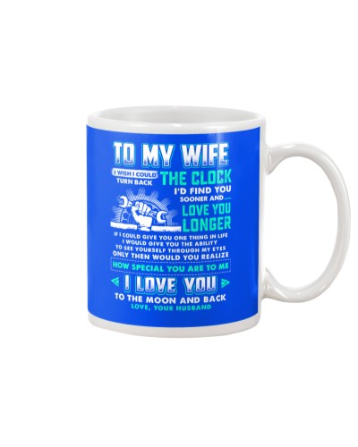 Mechanic Wife Clock Ability Moon Mug