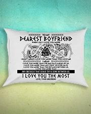 Viking I Love You Boyfriend Rectangular Pillowcase aos-pillow-rectangle-front-lifestyle-3