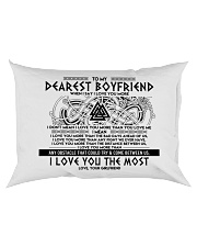 Viking I Love You Boyfriend Rectangular Pillowcase back