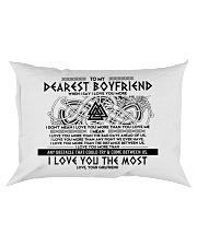 Viking I Love You Boyfriend Rectangular Pillowcase front