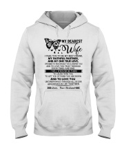 Butterfly Partner True Love Wife Hooded Sweatshirt thumbnail