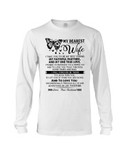 Butterfly Partner True Love Wife Long Sleeve Tee thumbnail