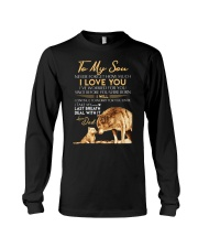 Wolf Deal With It Son Long Sleeve Tee thumbnail