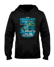To My Gorgeous Wife Meeting You Was Fate Turtle Hooded Sweatshirt thumbnail