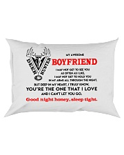 Hunting Boyfriend Good Night Sleep Tight Pillow Rectangular Pillowcase front