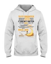 Be The Nice Kid Daughter  Hooded Sweatshirt thumbnail