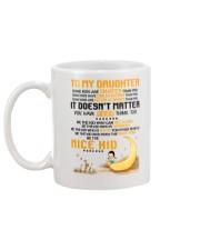 Be The Nice Kid Daughter  Mug back