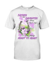 Father And Daughter Not Always Eyes To Eyes Horse Classic T-Shirt thumbnail