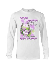 Father And Daughter Not Always Eyes To Eyes Horse Long Sleeve Tee thumbnail