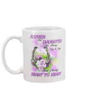 Father And Daughter Not Always Eyes To Eyes Horse Mug back