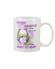 Father And Daughter Not Always Eyes To Eyes Horse Mug front