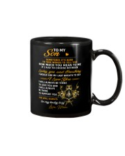 Sometimes It's Hard To Find Words Freemason Mug front