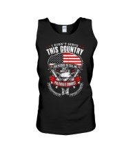 I DIDN'T SERVE THIS COUNTRY Unisex Tank thumbnail
