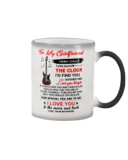 Instruments  Guitar Girlfriend Clock Ability Moon Color Changing Mug tile