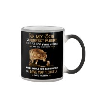 I'm Not A Perfect Parent Wolf Color Changing Mug thumbnail