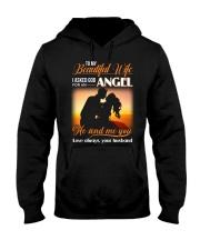 Wife God For An Angel Hooded Sweatshirt thumbnail