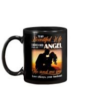 Wife God For An Angel Mug back