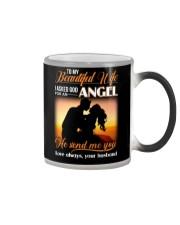 Wife God For An Angel Color Changing Mug thumbnail