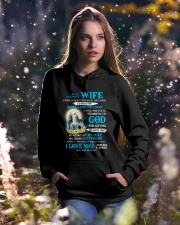I Will Forever Be Thankful Wolf Hooded Sweatshirt lifestyle-holiday-hoodie-front-5
