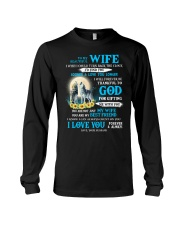 I Will Forever Be Thankful Wolf Long Sleeve Tee thumbnail