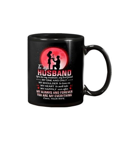 Family Husband I'm Not Perfect Mug CC