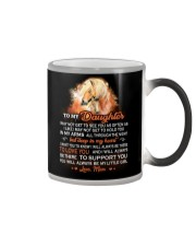 I May Not Get To See You Horse Color Changing Mug tile