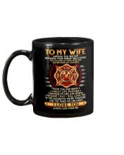 Firefighter Wife Ups And Downs Love Mug back