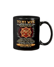 Firefighter Wife Ups And Downs Love Mug front