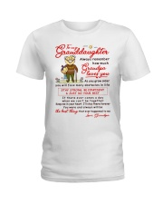 Stay There Forever Granddaughter  Ladies T-Shirt thumbnail