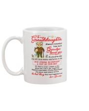 Stay There Forever Granddaughter  Mug back