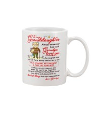 Stay There Forever Granddaughter  Mug front