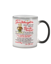 Stay There Forever Granddaughter  Color Changing Mug thumbnail
