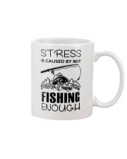 Stress Is Caused By Not Fishing Enough Mug thumbnail