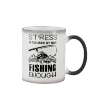 Stress Is Caused By Not Fishing Enough Color Changing Mug thumbnail